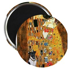 "Kiss / Fox Terrier 2.25"" Magnet (10 pack)"