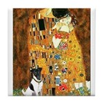Kiss / Fox Terrier Tile Coaster