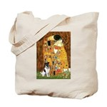 Kiss / Fox Terrier Tote Bag