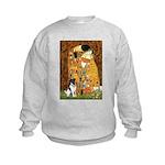 Kiss / Fox Terrier Kids Sweatshirt
