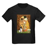 Kiss / Fox Terrier Kids Dark T-Shirt