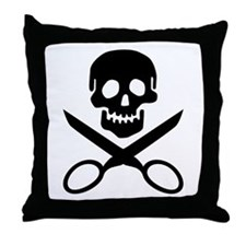 The Jolly Cropper Throw Pillow