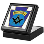 Masonic security guard - Keystone Keepsake Box
