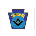 Masonic security guard - Keystone Postcards (Packa
