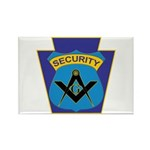 Masonic security guard - Keystone Rectangle Magnet