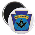Masonic security guard - Keystone Magnet