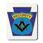 Masonic security guard - Keystone Mousepad