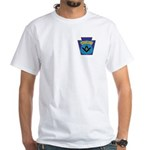 Masonic security guard - Keystone White T-Shirt
