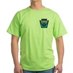 Masonic security guard - Keystone Green T-Shirt