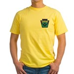 Masonic security guard - Keystone Yellow T-Shirt