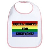 Gay Rights Bib