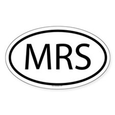 MRS Oval Decal