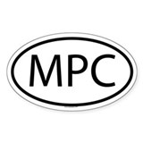MPC Oval Decal