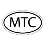 MTC Oval Decal