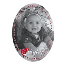 cody & skylar Oval Ornament