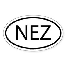 NEZ Oval Decal