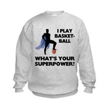 Basketball Superhero Sweatshirt