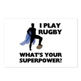Rugby Superhero Postcards (Package of 8)