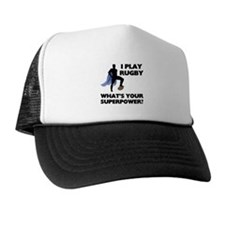 Rugby Superhero Trucker Hat