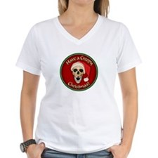 Unique Skull christmas Shirt