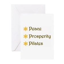 Funny Pilates Greeting Cards (Pk of 20)