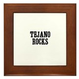 Tejano Rocks Framed Tile