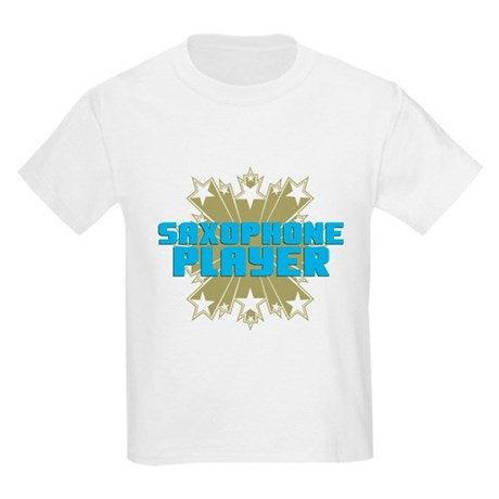 Star Saxophone Kids Light T-Shirt