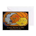 Como Noche y Dia / Like Night Greeting Card