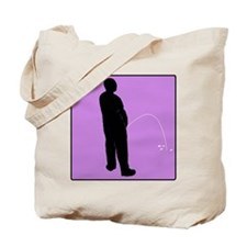 iPeed (purple) Tote Bag