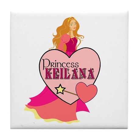 Princess Keilana Tile Coaster