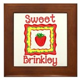 Sweet Brinkley Framed Tile