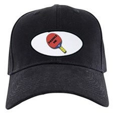 Paddle Me Ping Pong Black Cap
