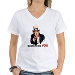 Sucks To Be You (Uncle Sam) Women's V-Neck T-Shirt
