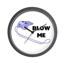 Blow Me Whistle Wall Clock