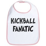 Kickball fanatic Bib