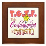 Fantastic Goddaughter Framed Tile