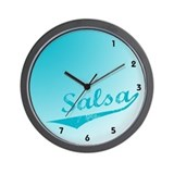 Salsa Clock Wall Clock
