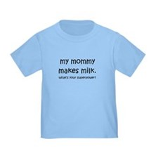 My mommy makes milk T