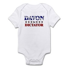 DAVON for dictator Infant Bodysuit
