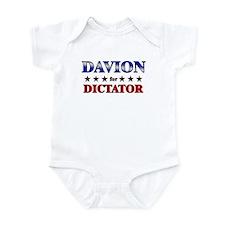 DAVION for dictator Infant Bodysuit