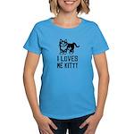 I LoVES Me KITTY - Women's Dark T-Shirt