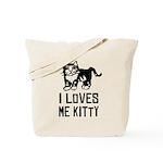 I LoVES Me KITTY - Cat Tote Bag