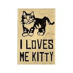 I LoVES Me KITTY - Magnets (10 pack)