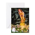 Fairies / Papillon (f) Greeting Card