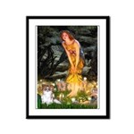 Fairies / Papillon (f) Framed Panel Print