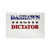 DASHAWN for dictator Rectangle Magnet