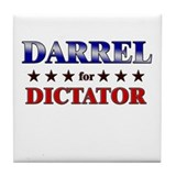 DARREL for dictator Tile Coaster