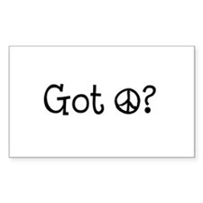 Got Peace Decal