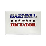 DARNELL for dictator Rectangle Magnet (10 pack)
