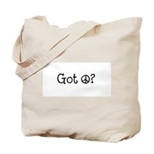 Got Peace Tote Bag